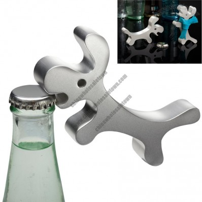 Engraved Dog Shape Bottle Opener