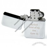 Engraved Lighter - Chrome