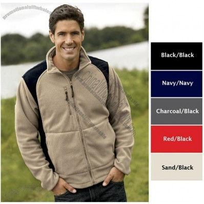 Escape Full-Zip Performance Micro Printed Fleece Jacket for Men's