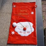 Especially Big Nonwovens Santa Xmas Gift Bag for Christmas Show