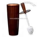 Espresso Bamboo Toilet Brush