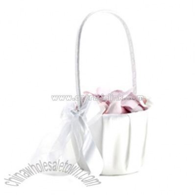 Eternal Flower Girl Basket