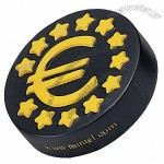 Euro Coin Shape Stress Ball
