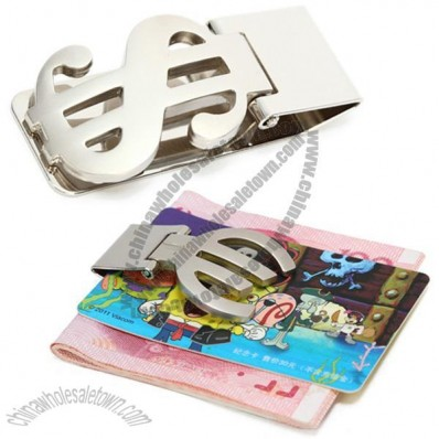 Euro and USD Dollar Money Clip