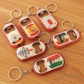 European Cup souvenir beer bottle opener keychain with light