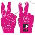 Eva Peace Sign Foam Finger
