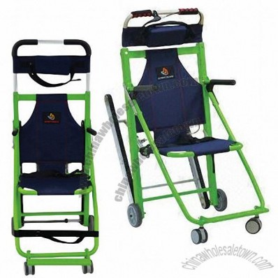 Evacuation Chair, Can Move on Stairs Using the Track, Easy to Move