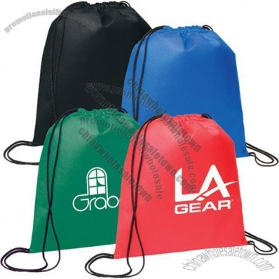 Evergreen Drawstring Backpack