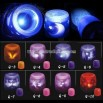 Evil spirit imaginary LED projection voice control candle lamp