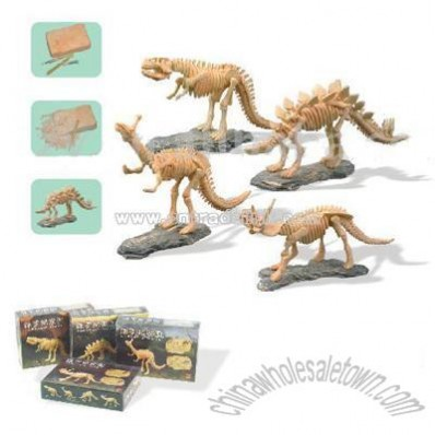 Excavation Fossil Toy Diy Archeology Toy