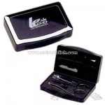 Exclusive six piece manicure set in elegant container