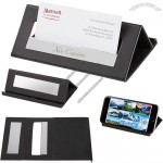 Executive Desk Card Holder and Media Stand