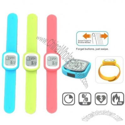 Exercise Fitness 3D Wristband Pedometer Watch