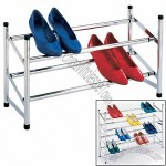 Expandable & Stacking Shoe Organizer