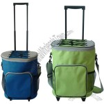 Expandable Rolling Cooler Bag