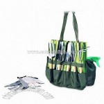 Expert Gardener with Large Compartment and Fully Equipped Garden Tools
