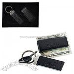 Expressions Money Clip - Key Fob Gift Set