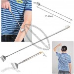 Extandable Stainless Steel Back Scratcher