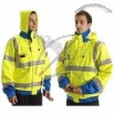 Extra High Collar Reflective Jacket