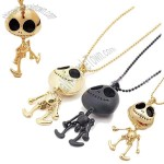 Extra-terrestrial Human Skeleton Necklace Christmas Gift