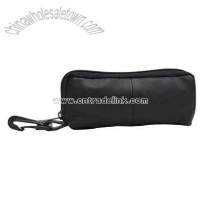 Eyeglass pouch or sunglasses pouch