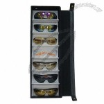 Eyewear Display And Storage Case With Soft Inner Layer