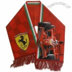 F1 Car Ferrari Fan Scarf