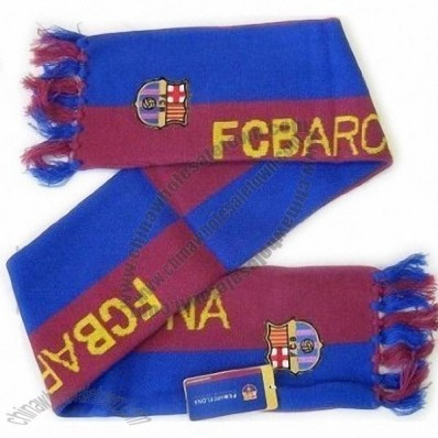 FC Barcelona Soccer Spanish European Football Scarf