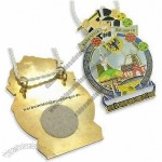 FIFA WM-Stadt Dortmund 2006 Medals with Gold Shine Medal and White Cord