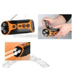 FM/AM Dynamo Radio Flashlight