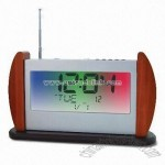 FM Digital Radio with Hardwood Body and Auto-scan Function