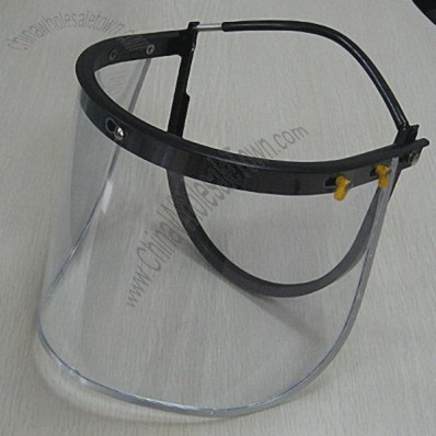 Face Shields With PVC Face Visor