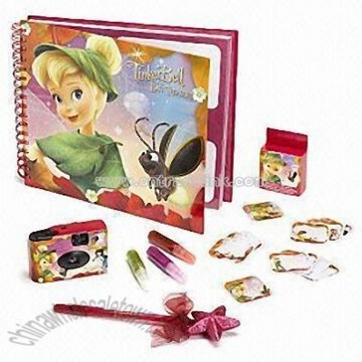 Fairies Photo Album and Camera Set for Children Aged 3+ Years