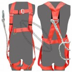 Fall Arrest Harness With 1.5M Rope Lanyard