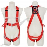Fall-Arrest Safety Harness with 3 D Ring