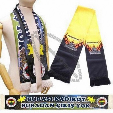 Fan Scarves, Made of Polyester