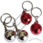 Fancy Disco Ball Metal Keychains