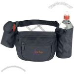 Fanny pack with bottle holder and cellular phone pouch, blank