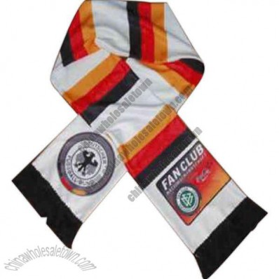 Fans Scarf Made Of 130gsm Terylene