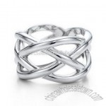 Fashion 925 Sterling Silver Finger Ring