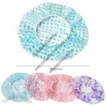 Fashion Dot Waterproof Shower Cap