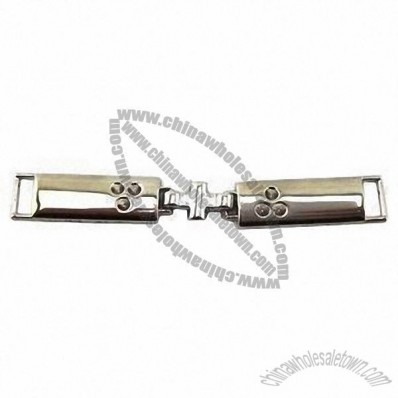 Fashion Garment Buckle, Made of Alloy