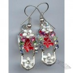 Fashion Jewelry---Slipper Earrings