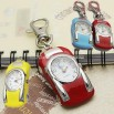 Fashion Jewelry Key Chain Roadster Quartz Clock Watch