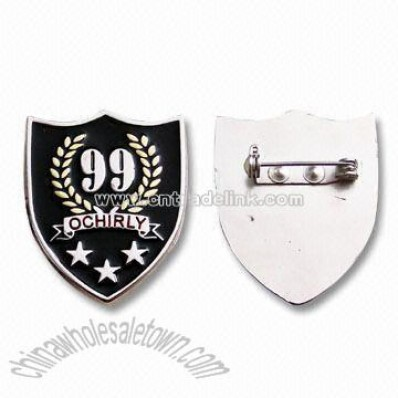 Fashion Metal Badge