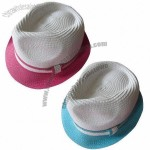 Fashion Mix Color Straw Hat with Tape