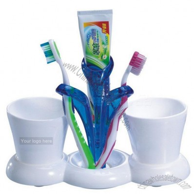 Fashion Multifunction Toothbrush Holder With Cup