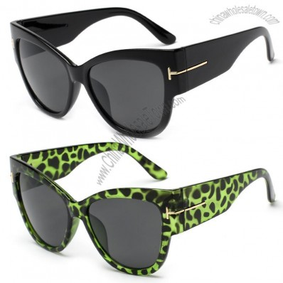 Fashion Plastic Brand Name Customized Women Sunglasses