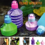 Fashion Plastic Foldable Water Bottle For Outdoor Sports