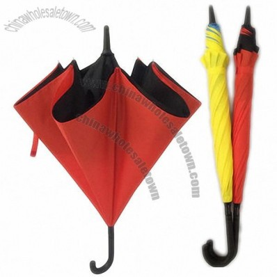 Fashion Reverse Double Umbrella